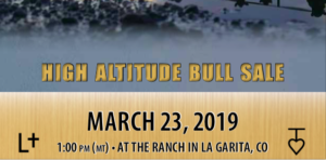 T-Heart Ranch High Altitude Cattle | T-Heart Ranch High Altitude Cattle | High Altitude Bull Sale March 23, 2019 at 1:00PM at the ranch in La Garita, Colorado
